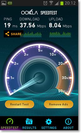 測試手機網路速度APP-P06