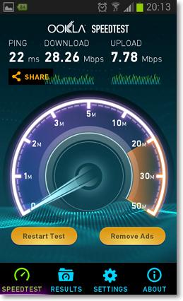 測試手機網路速度APP-P05