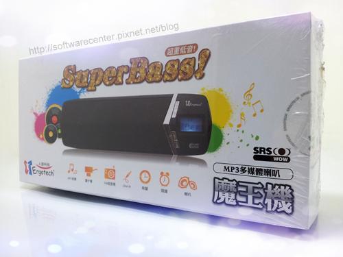 人因重低音MP3喇叭 SP1110 開箱文-Logo.png