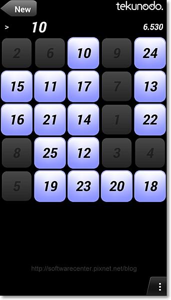 挑戰你的速度1-25數字遊戲APP-P05