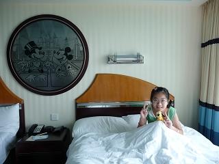 迪士尼酒店-房間.JPG