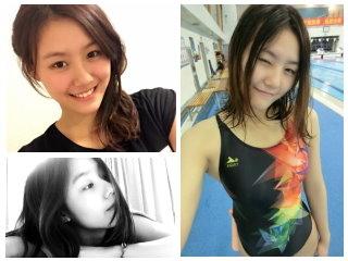 泳壇女神劉湘 陸新晉泳壇第一美女