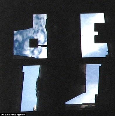 天空上打字 - 藍天上的字母 天空上打字6.jpg
