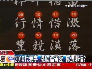 2010 代表字 - 票選 2010 代表字1.jpg
