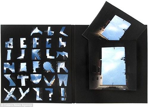 天空上打字 - 藍天上的字母 天空上打字1.jpg