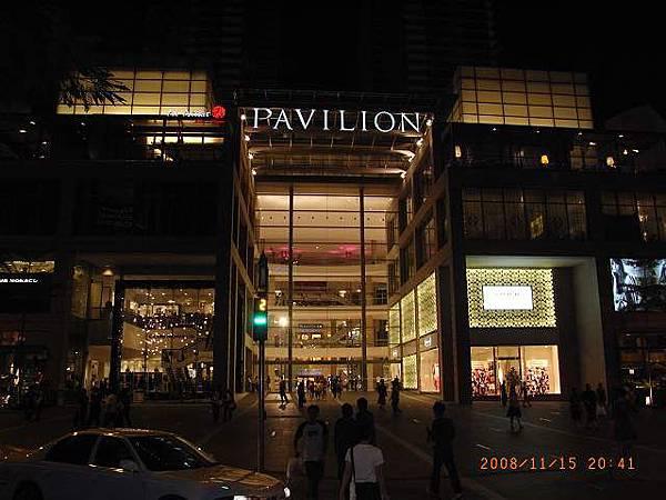 Pivilion的大门口