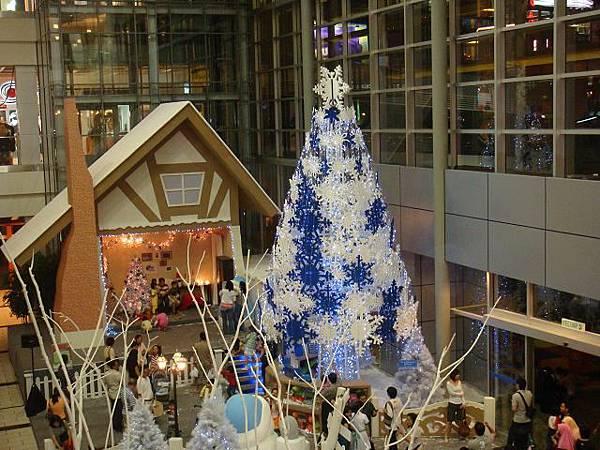 Ikano圣诞树@2008