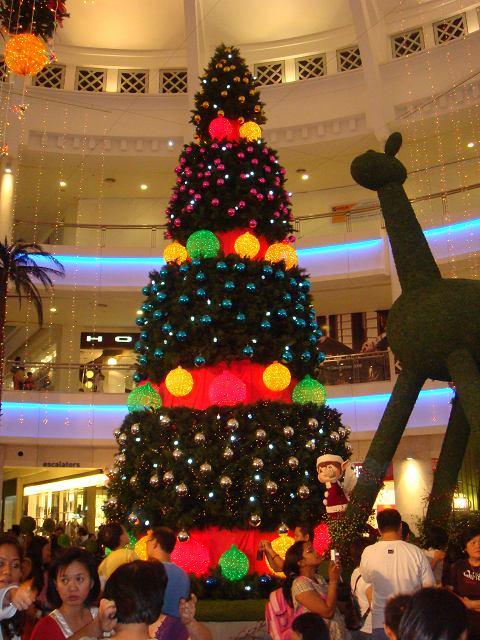 The Curve圣诞树@2008