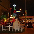 经过路边看到的圣诞树!!