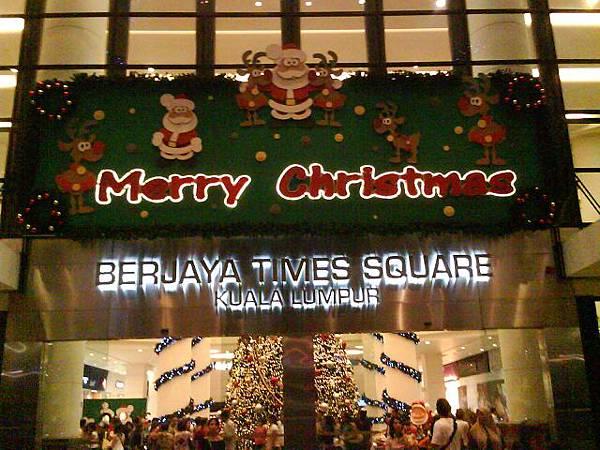 Time Square的大門口