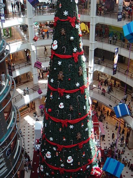 KLCC圣诞树@2008