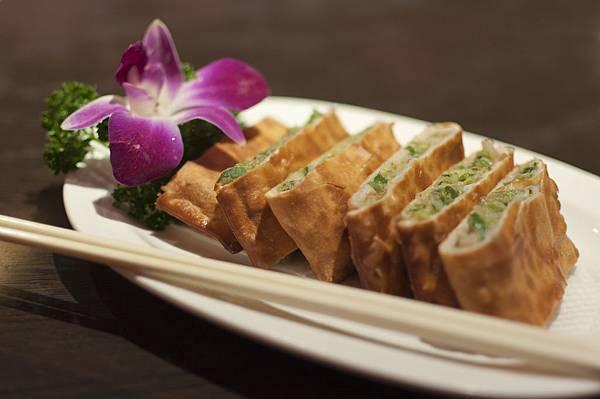溢香園 鮮菜蝦鍋餅