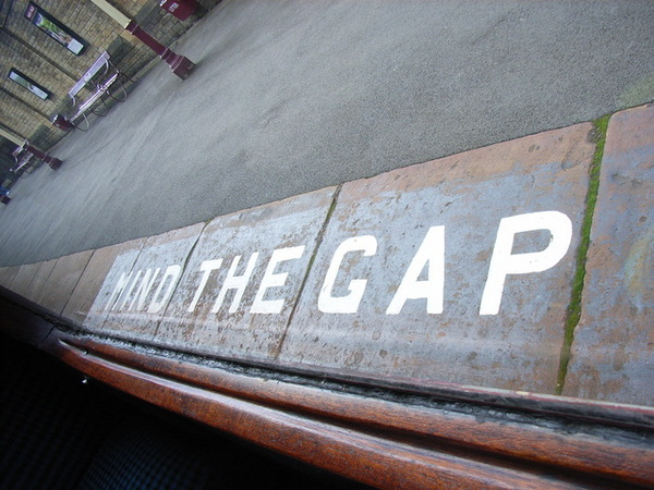 Mind the gap~