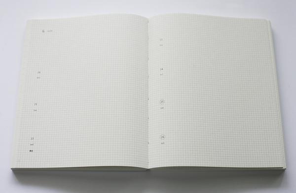 手帳內頁格紋