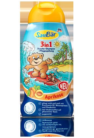 3in1, Dusche + Shampoo + Pflegespülung Aprikose.png