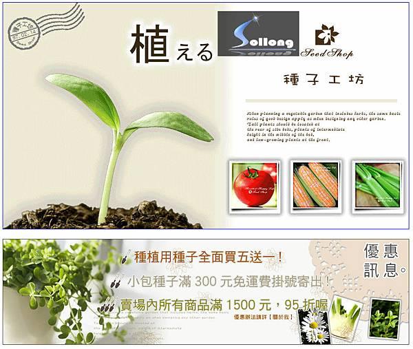 鑠龍資訊拍賣設計-種子工坊