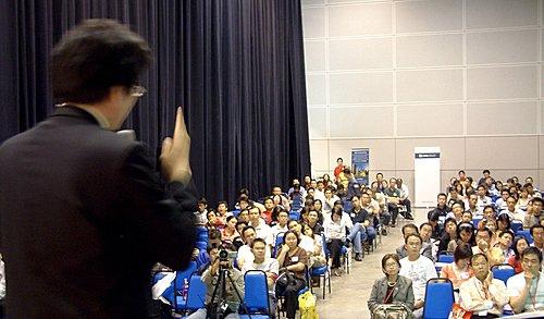 2008511馬國演講,現場有二百至三百多位馬國聽眾,座無虛席