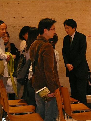 2008年台北信義誠品演講會後,仍有人問問題