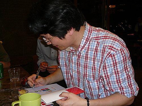 2008年5月22日王志鈞在台北人咖啡舉辦的讀書會,是我自己首度籌劃的公益講座