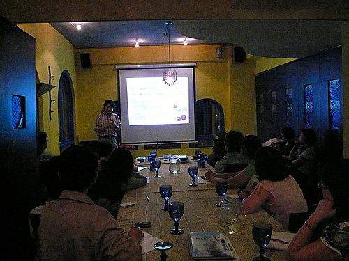 2008年5月27日王志鈞首度到台中公益演講,計有十多人參與