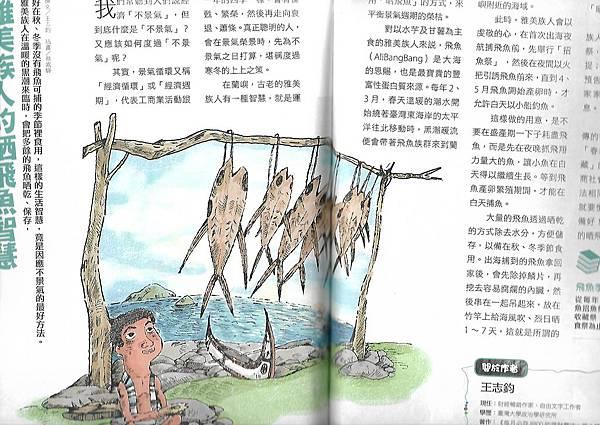 2雅族人的曬飛魚精神