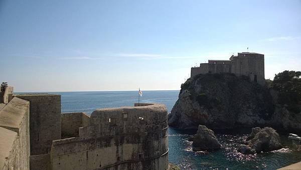 Dubrovnik-City Walls-Lovrjenac Fort