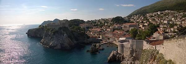 Dubrovnik-City Walls-Lovrjenac Fort %26; Bokar Tower