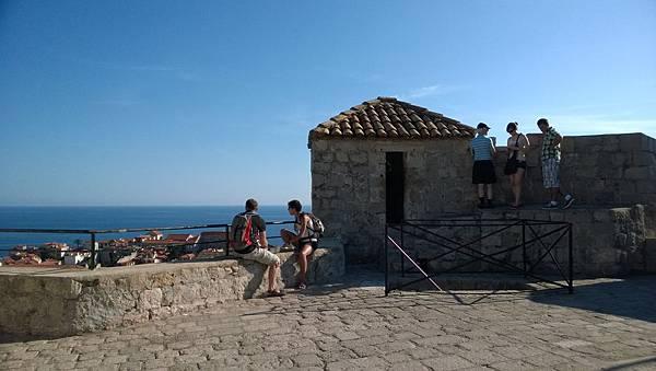 Dubrovnik-City Walls-Minčeta Tower