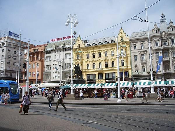 Zagreb-Trg bana Jelacica