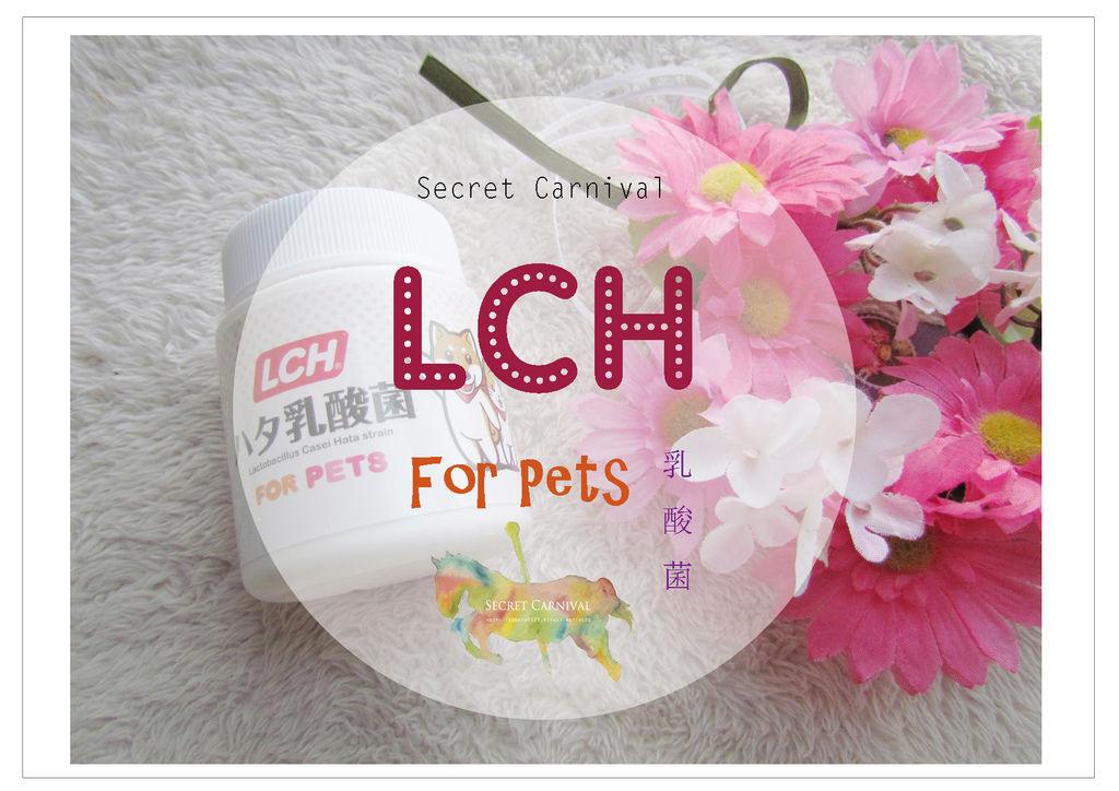 ♡ 貓貓狗狗的保健食品,日本 LCH 寵物乳酸菌 ♡