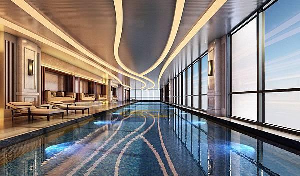 台灣買樓須知-遠雄房屋室內游泳池
