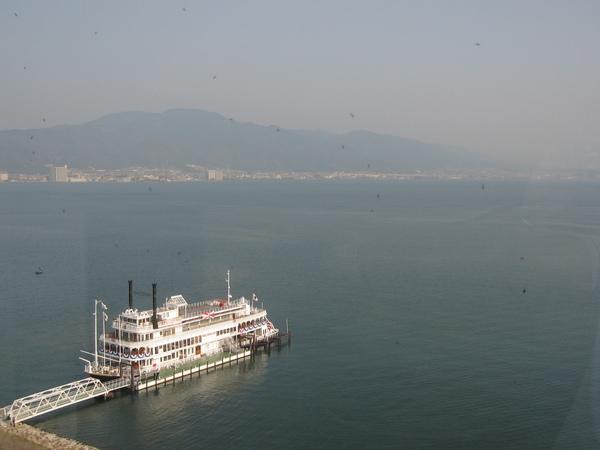 日本第一名湖_琵琶湖(正好在飯店旁邊).JPG
