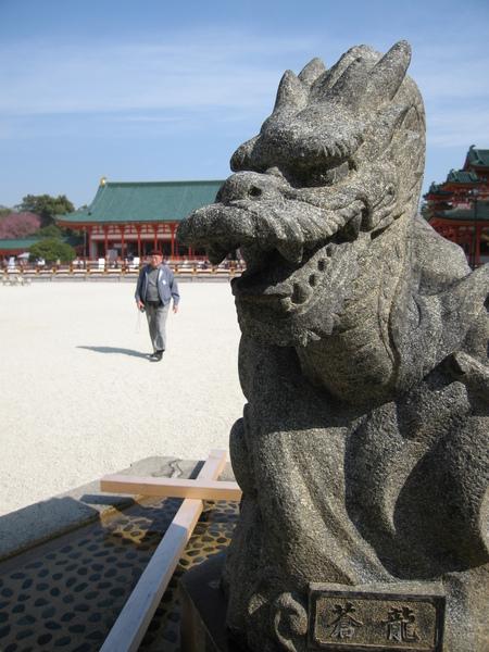平安神宮也參照中國五行排列.JPG
