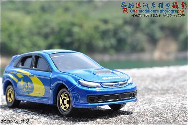 SUBARU IMPREZA WRX STI (GRB) WRC version by TOMICA 004.JPG
