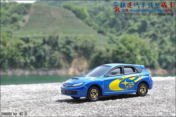 SUBARU IMPREZA WRX STI (GRB) WRC version by TOMICA 015.JPG