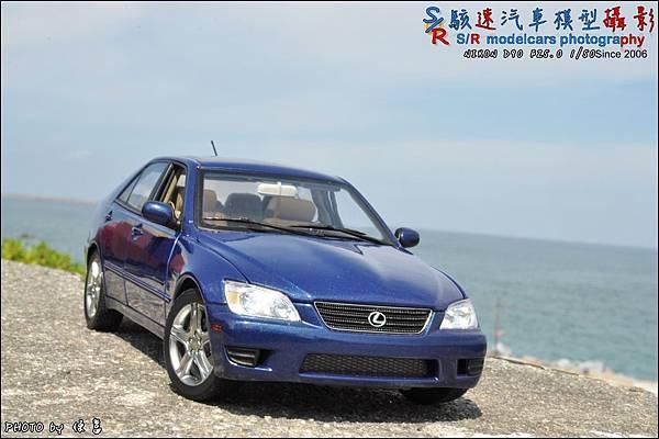 Lexus IS300 by Autoart 001.JPG