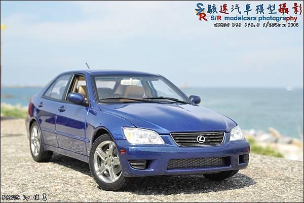 Lexus IS300 by Autoart 022.JPG