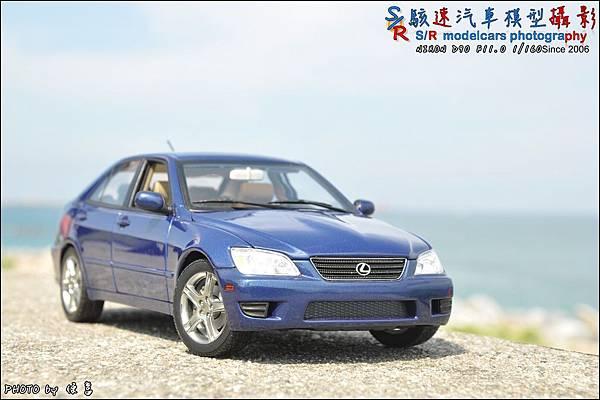 Lexus IS300 by Autoart 025.JPG