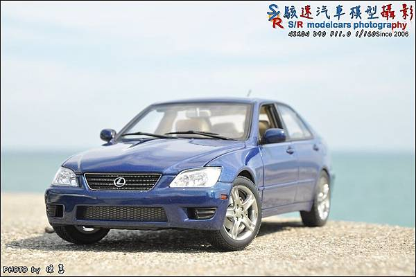 Lexus IS300 by Autoart 030.JPG