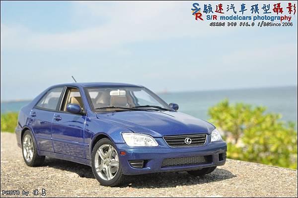 Lexus IS300 by Autoart 040.JPG