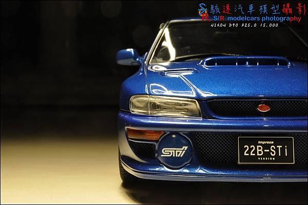 SUBARU IMPREZA 22B by Autoart 036.JPG