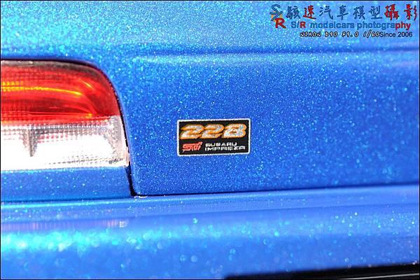 SUBARU IMPREZA 22B by Autoart 060.JPG