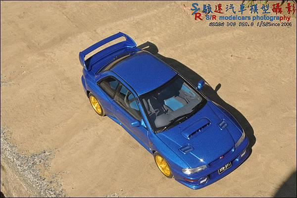 SUBARU IMPREZA 22B by Autoart 091.JPG