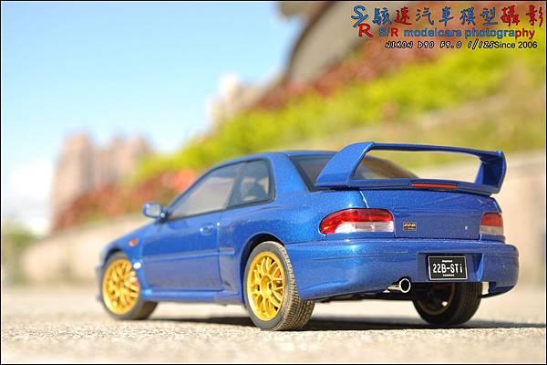 SUBARU IMPREZA 22B by Autoart 098.JPG
