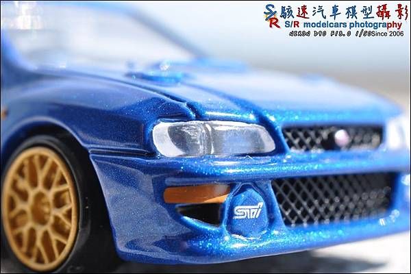 SUBARU IMPREZA 22B by Tomica Premium 004.JPG