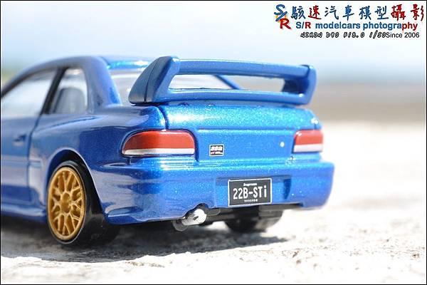 SUBARU IMPREZA 22B by Tomica Premium 008.JPG