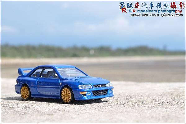 SUBARU IMPREZA 22B by Tomica Premium 016.JPG