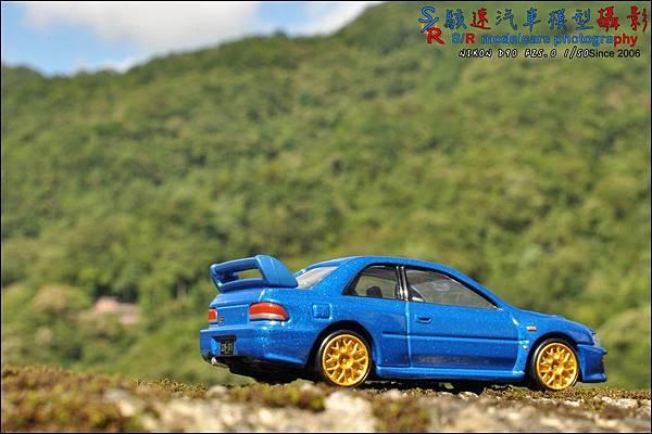SUBARU IMPREZA 22B by Tomica Premium 031.JPG