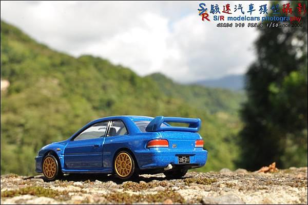 SUBARU IMPREZA 22B by Tomica Premium 035.JPG