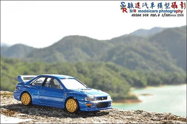 SUBARU IMPREZA 22B by Tomica Premium 041.JPG